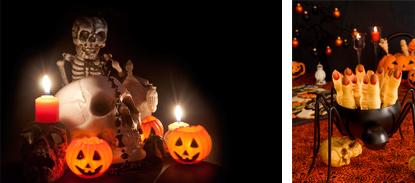 2 décorations couloirs maison hantée Décorations Horreur Fiesta Magic