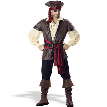 Déguisement capitaine pirate