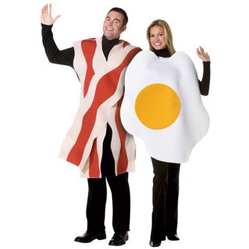 Déguisement oeuf et bacon