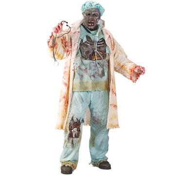 Déguisement medecin zombie adulte