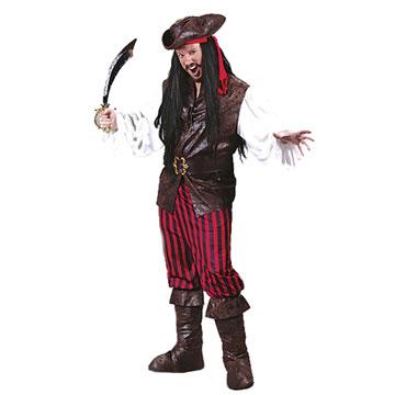 Déguisement pirate des hautes mers