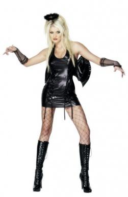 Déguisement ange noir sexy femme