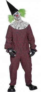 costume de clown effrayant