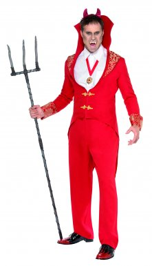 Costume diable luxe