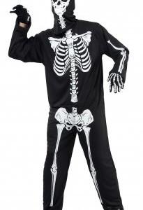 Déguisement d'épouvante squelette