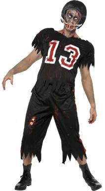 Déguisement de footballeur américain zombie adulte