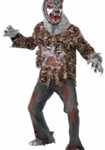 Déguisement loup garou zombie adulte
