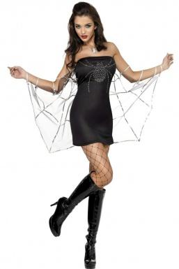 Deguisement avec robe noire