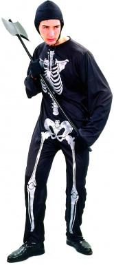 Déguisement squelette homme