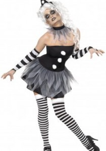 Déguisement Pierrot femme
