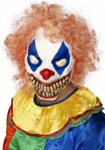 Masque de clown horreur