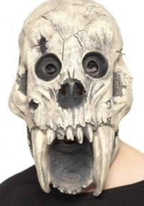 Masque crâne de monstre