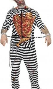 Déguisement zombie prisonnier