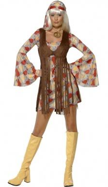 deguisement hippie femme annees 70