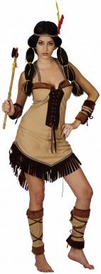 Deguisement apache femme