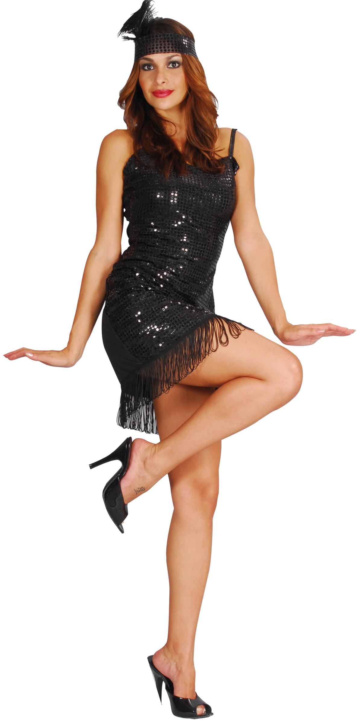 d guisement charleston femme robe ann e 20 sequins. Black Bedroom Furniture Sets. Home Design Ideas