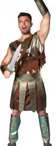 Déguisement gladiateur spartacus